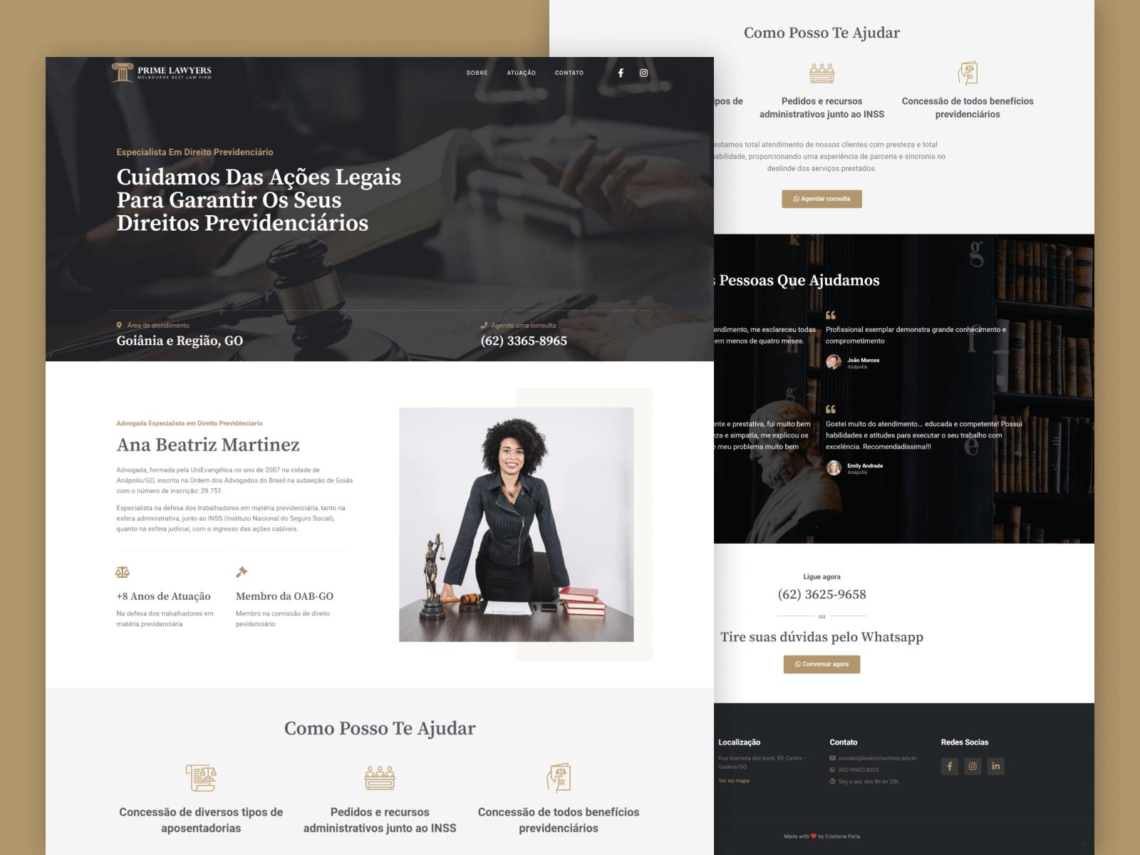 Site Advogada